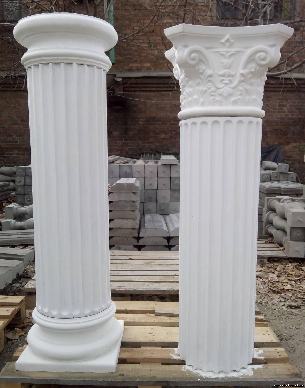 Колонна из бетона видео
